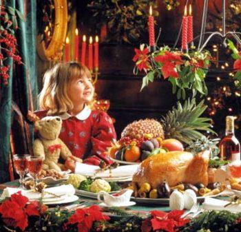 Рождественский гусь жареный на московский манер