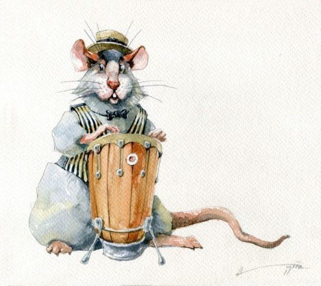 Как крыса приносила своему хозяину деньги