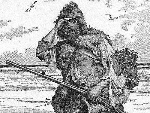Забытая история русского  Робинзон Крузо