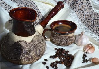 Февральский кофе с медом и чесноком