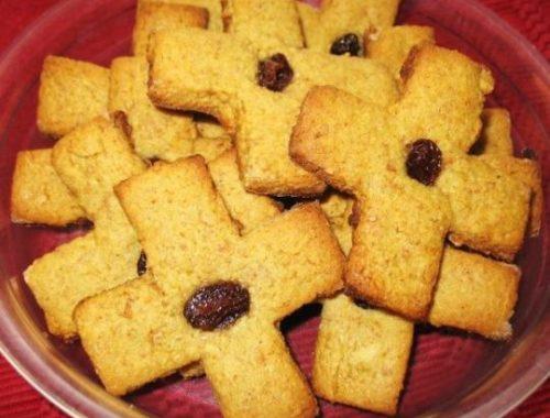 Обрядовое печенье Крещенский крест