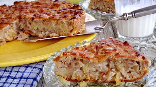 Восхитительный яблочный пирог от Шулы Модан
